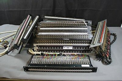 Job Lot Ex-BBC Vintage Rack Mount 48 Port Jack Patch Panel - USED (Green Box)