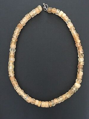 Ancient Rock Crystal Beads Necklace Niger Mali