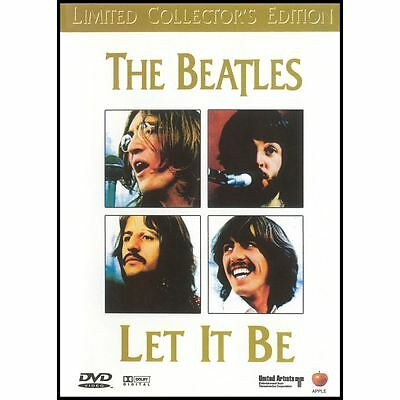 The Beatles Let It Be DVD NTSC Region Free New Sealed