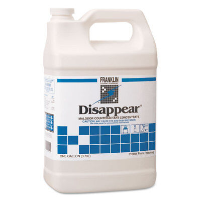 Disappear Concentrated Odor Counteractant, Spring Bouquet Scent, 1gal, 4/ct