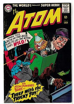 DC Comic ATOM Silver age  #23 VFN- 7.0  superman 1966