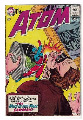 DC Comic ATOM Silver age  #18 VG  superman 1965