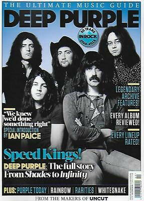 UK UNCUT Magazine SEPT 2018: DEEP PURPLE IAIN PAICE The Ultimate Music Guide