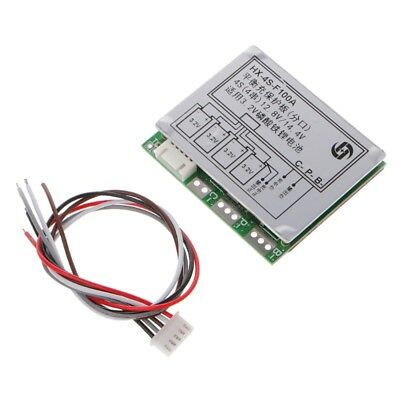 4S 100A w/Balance 3.2V LiFePo4 LiFe 18650 Battery Cell PCB BMS Protection Board