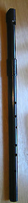 Shearwater Low/Tenor 'D' tuneable Irish Celtic whistle, adjustable mouthpiece