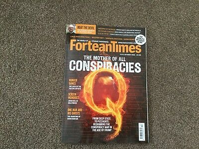 Fortean Times Magazine Issue 370 & 371 Sept & Oct 2018 and Mug