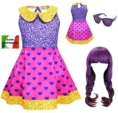 Simile Lol Super BB Vestito Carnevale Bambina Tipo Lol Dress Cosplay LOLSUBB1