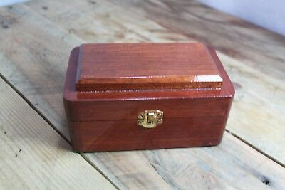 Handmade Reclaimed Wooden Box Jewellery Knickknacks Box 16.5x10x8cm #6