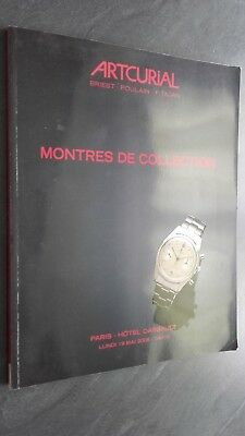 Catalogue Sales Artcurial Watches Collection Briest-Poulain-Tajan May 2008