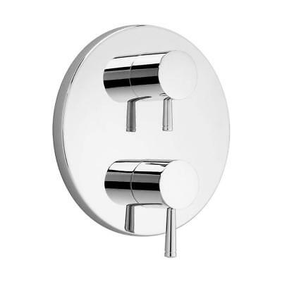 American Standard T064740.002 Two Handle Thermostat Trim Kit Polished Chrome