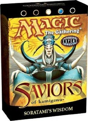 Magic the Gathering MTG Saviors of Kamigawa Soratami's Wisdom Theme Deck