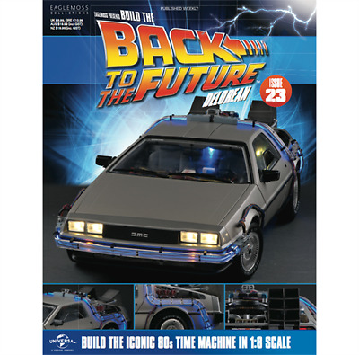Build The Back To The Future DeLorean part build model by Eaglemoss Issue 23