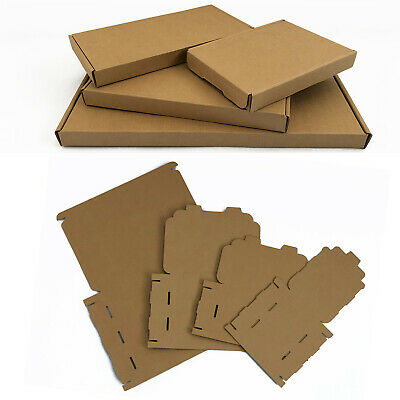 Brown Royal Mail Large Letter Pip Cardboard Postal Boxes C4 C5 C6 *High Quality*