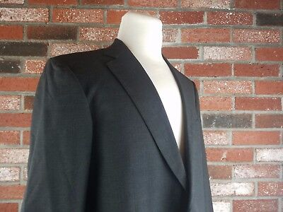 Reliable Brooks Brothers Men 40r Maker Brooksease Suit Jacket Wool Black Pinstripe Blazer Men's Clothing Clothing, Shoes & Accessories
