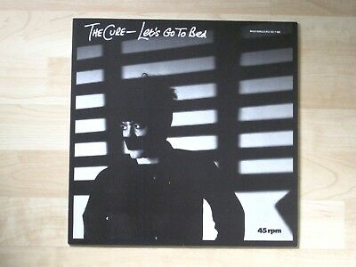 """THE CURE - Let's go to Bed * Maxi-Single 1982 Fiction 813 122-1 Vinyl 12"""" * TOP"""