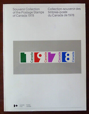 1978 CANADA ANNUAL SOUVENIR COLLECTION 21 --- MNH stamps