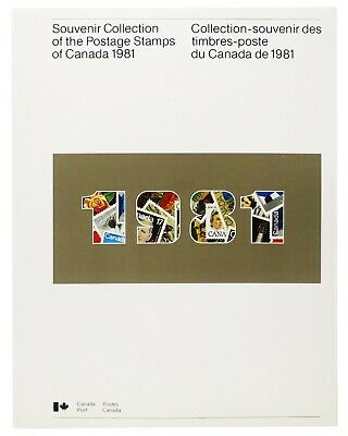 1981 Canada ANNUAL SOUVENIR COLLECTION 24 --- CV $30 --- with MINT NH stamps