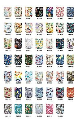 LilBit 15 PCS Washable Pocket Baby Reusable Cloth Diapers