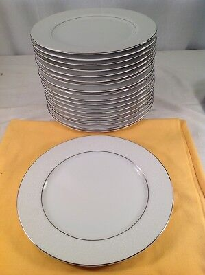 """Crown Victoria Japan Fine China Lovelace Pattern 10.25"""" Dinner Plate(s)"""