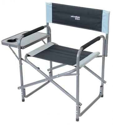 Yellowstone Director Outdoor Chair with Table, Multicolour