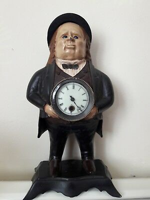 John Bull Blinking Eye Clock, By Bradley & Hubbard