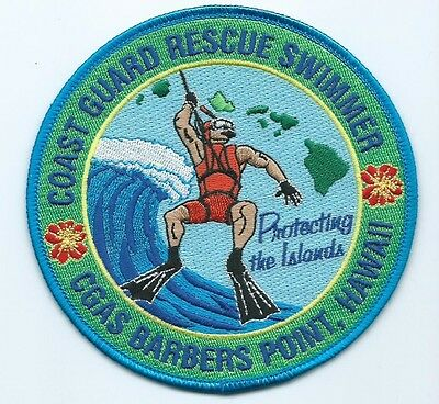 United States Coast Guard USCG patch Barbers Point, Hawaii 4-1/2 in  dia #762