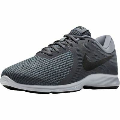 Nike Revolution 4 Dark Grey/Black/Dark Grey (Wide Widths)