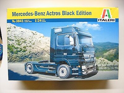 Italeri Mercedes-Benz Actros Black Edition truck kit #3841 from 2007