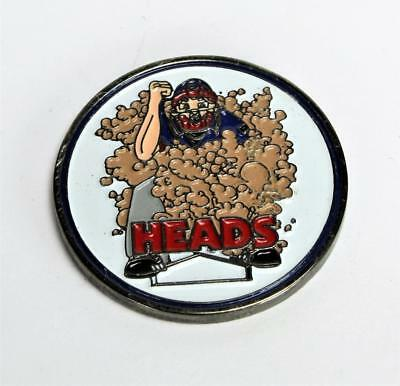 Baseball Heads & Tails Challenge Token Coin $2.99 S/H