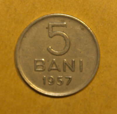 Romania 5 Bani 1957 Extremely Fine Coin