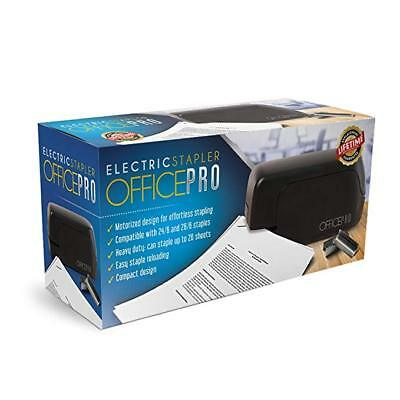 OfficePro Electric Stapler, Battery-powered, Heavy-Duty Office Pro depot NEW