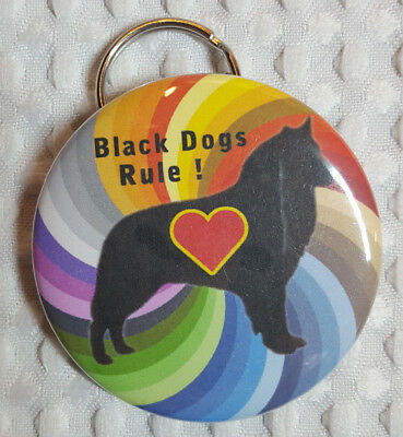 Belgian Sheepdog Black Dogs Rule Bottle Opener