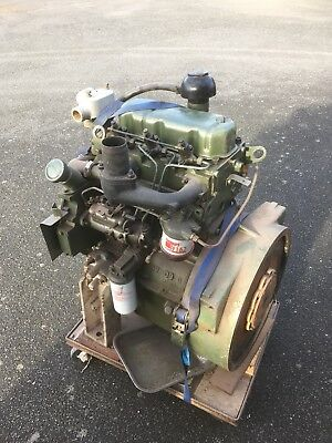 Perkins D3 152 Marine Diesel Engine MF135 Rebuilt Project