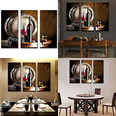 Unframed Wine Grape Modern Wall Art Painting Picture Home Restaurant Decor