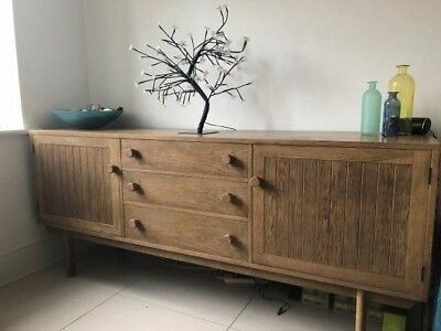 G Plan Oak Sideboard by Richard Young. 1960's. Very rare.
