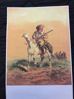 Lot of 3 Contemporary BUFFALO BILL'S WILD WEST SHOW Posters