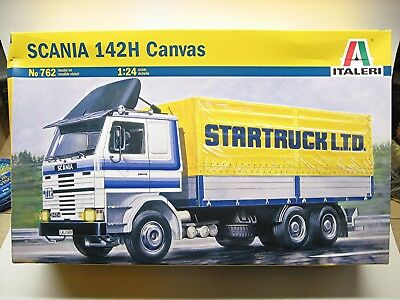 Italeri Scania 142H Canvas truck kit #762 from 2010