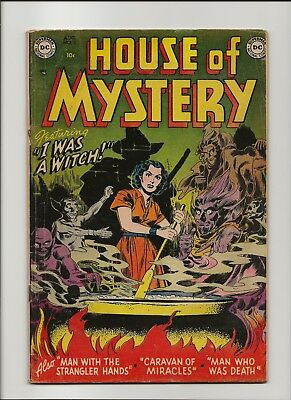 House of Mystery 5 VG/F 5.0 DC Pre-Code Horror 1952 44 Pages