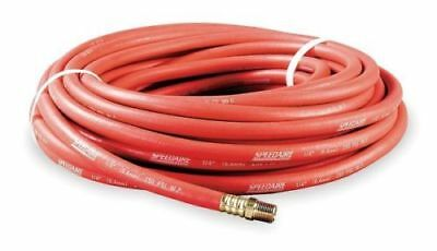 "SPEEDAIRE 5Z331 1/2"" x 50 ft Coupled Multipurpose Air Hose 250 psi Oil Resistant"