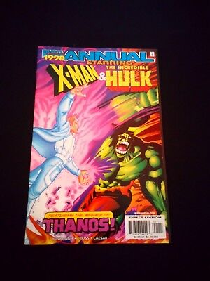 X-Man and The Incredible Hulk Marvel Comic Annual 1998