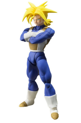 BANDAI S. H. Figuarts Dragon Ball Super Saiyan Trunks Figure NEW Japan