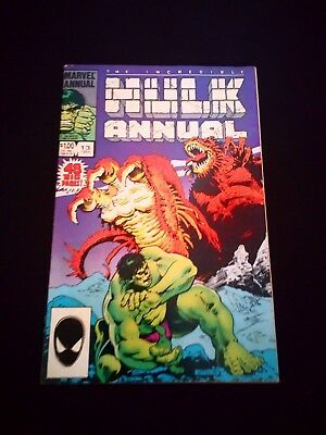 The Incredible Hulk Annual Vintage Marvel Comic #13 (1984)