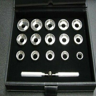 15 Dies Watch Case Back Opener Kit For Breitling Opener Removal Repair Tool