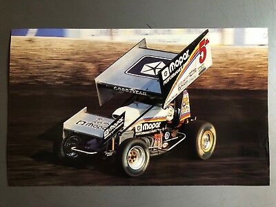 2002 Sprint Race Car World of Outlaws Print, Picture, Poster RARE!! Awesome L@@K