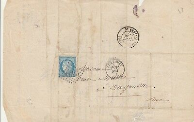 1873 Lettre Commercy Meuse