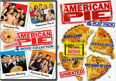 American Pie - The Complete 8 Movies Box Set(s) DVD Collection Unrated - NEW!
