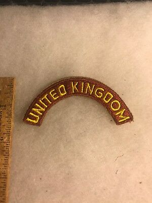 WW2 United Kingdom Transportation Tab Original (A423