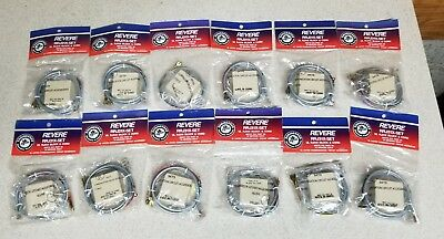 NEW - Revere RRJ31X-Set UL RJ31X Block and Direct Connect Cord (Lot of 12)