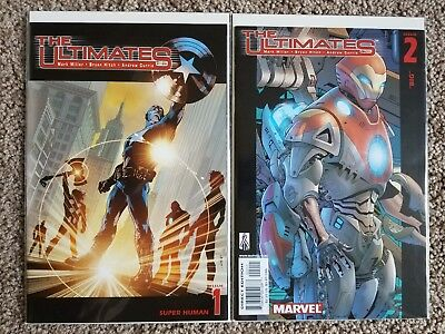 The Ultimates #1-2 (1 2) NM [Marvel, Mark Millar, Bryan Hitch, Andrew Currie]