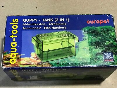 Pondoir isoloir flottant GUPPY TANK 3 IN 1 16X8X8 CM